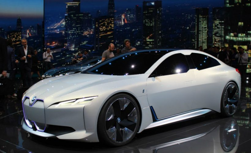 BMW i Vision Dynamics - Is Every Brand Taking Aim at Tesla