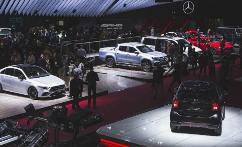 Paris Showed Off With An Array of Amazing Cars