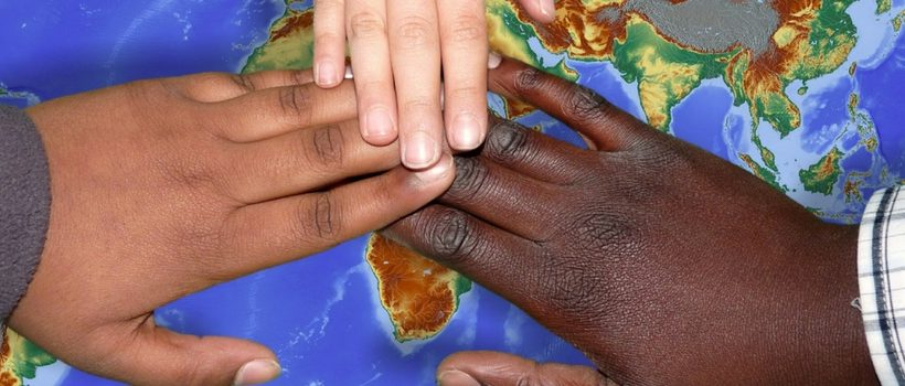 Helping Hands to see us through the negativity online