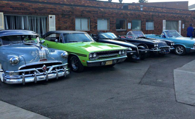 Cars at the Woodward Dream Cruise - Twenty Miles of Glory