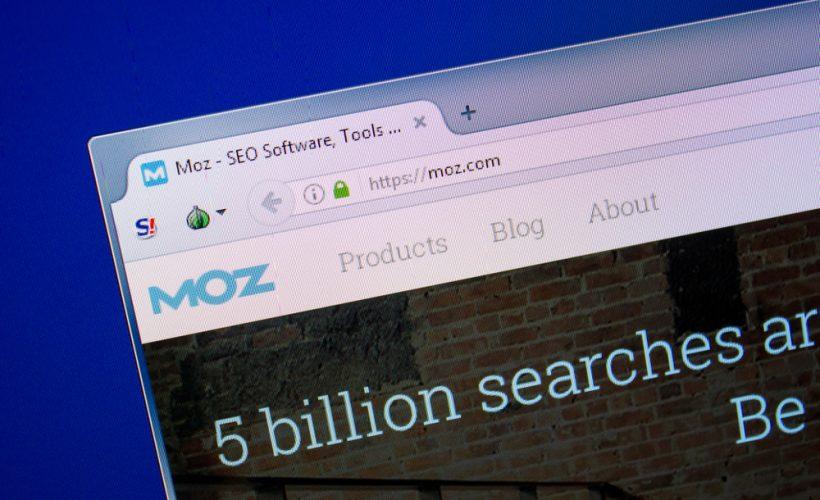 Moz's Domain Authority Checker 2.0