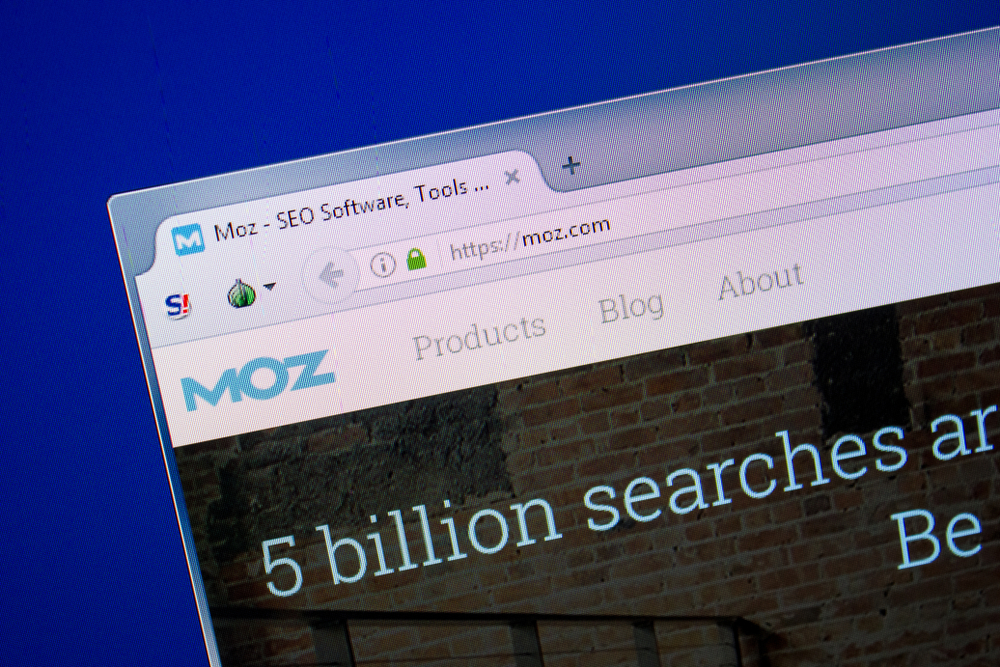 Moz's Domain Authority Checker 2.0