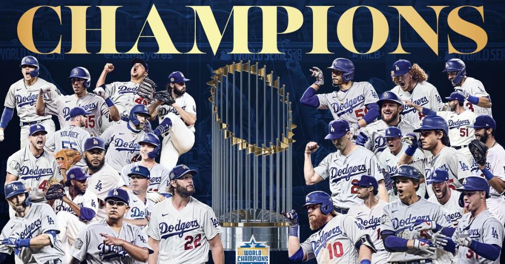 World Series Winners–The Champions of the COVID-19 Season