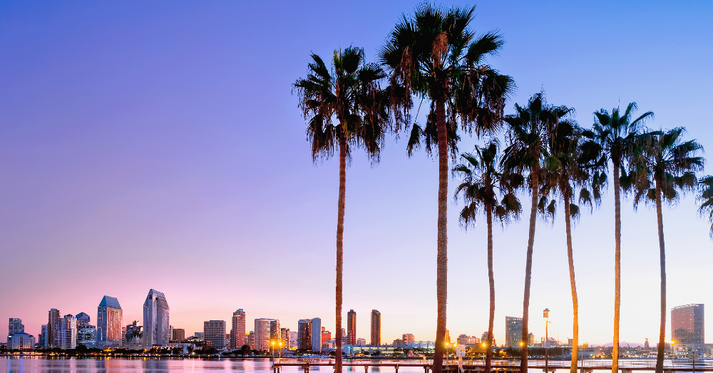 The Tropical Feeling is Perfect for Some Fun in San Diego