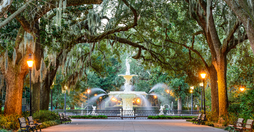 Southern Charm at its Finest in Savannah
