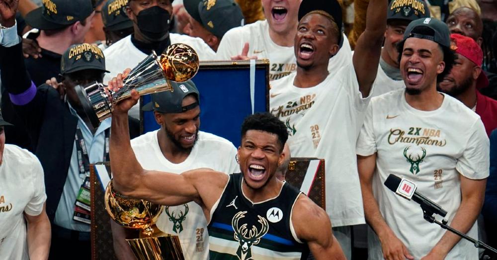 The Milwaukee Bucks are NBA Champions!
